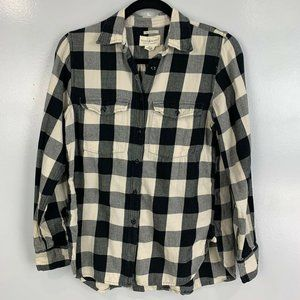 2 for $20 Denim & Supply Surplus Buffalo Plaid Top